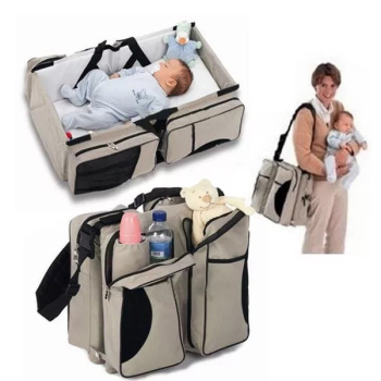 Foldable baby bed pack portable multi-functional mammy bag portable travel bed wholesale