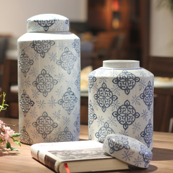 The new Chinese ceramic receptin can be used to set up a diamond shaped Chinese storage tank.