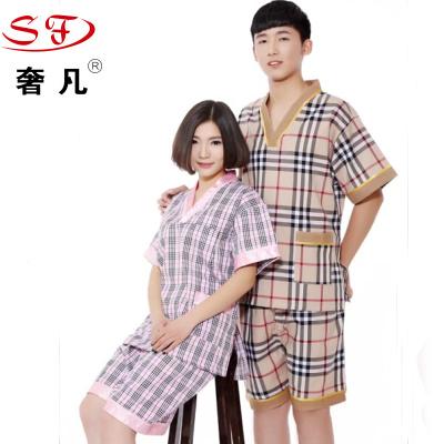 Bath clothes sweat, men's and women's pure cotton foot massage massage clothes