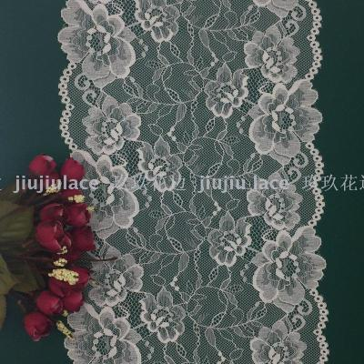 W18755 delicate lace flower ornament scarf, underwear hot style lace elastic lace