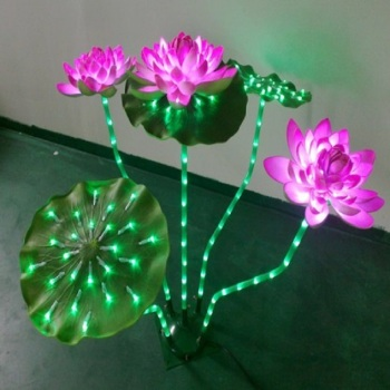 Landscape special LED lotus decoration lamp