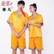The couple sweat steam suits men and women's sauna suits bathing suit women's clothes.