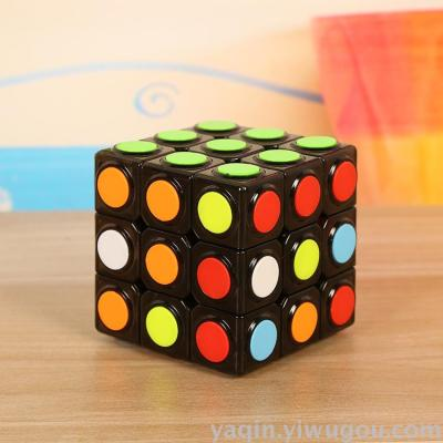 The manufacturer sells the third order rubik's cube magic square professional competition hand feeling
