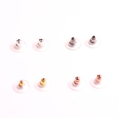 Ear plug earrings with a plug of 4 color can be chosen to sell earrings accessories accessories.