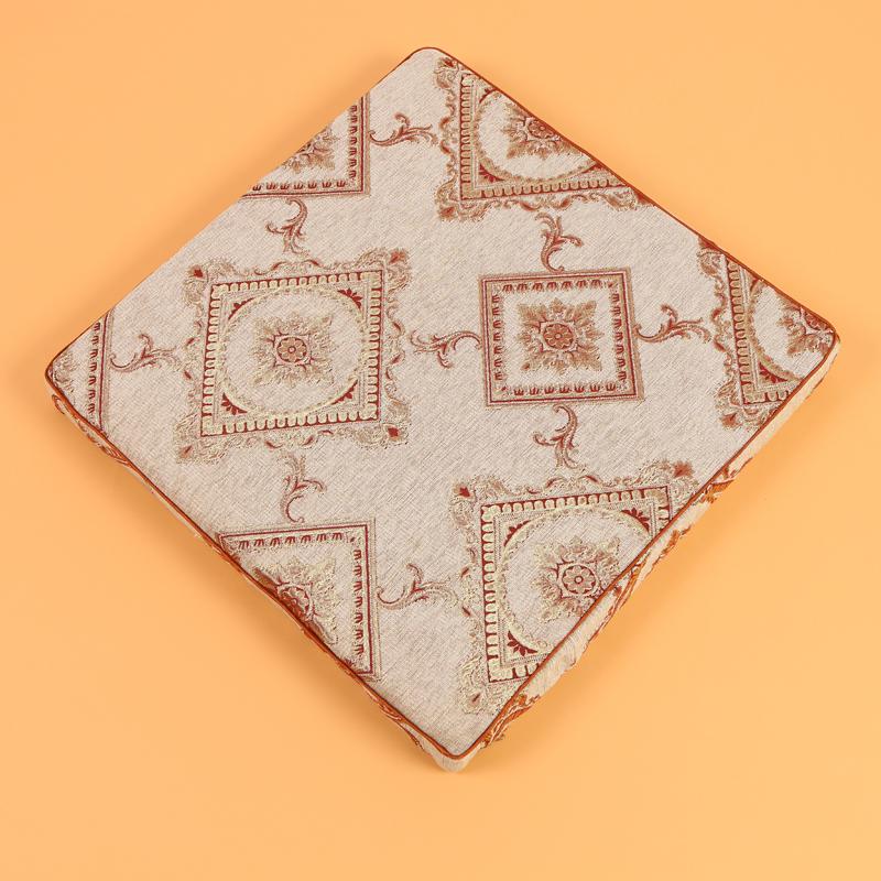 中式花纹刺绣靠垫抱枕正方形坐垫套 沙发座椅坐垫靠垫