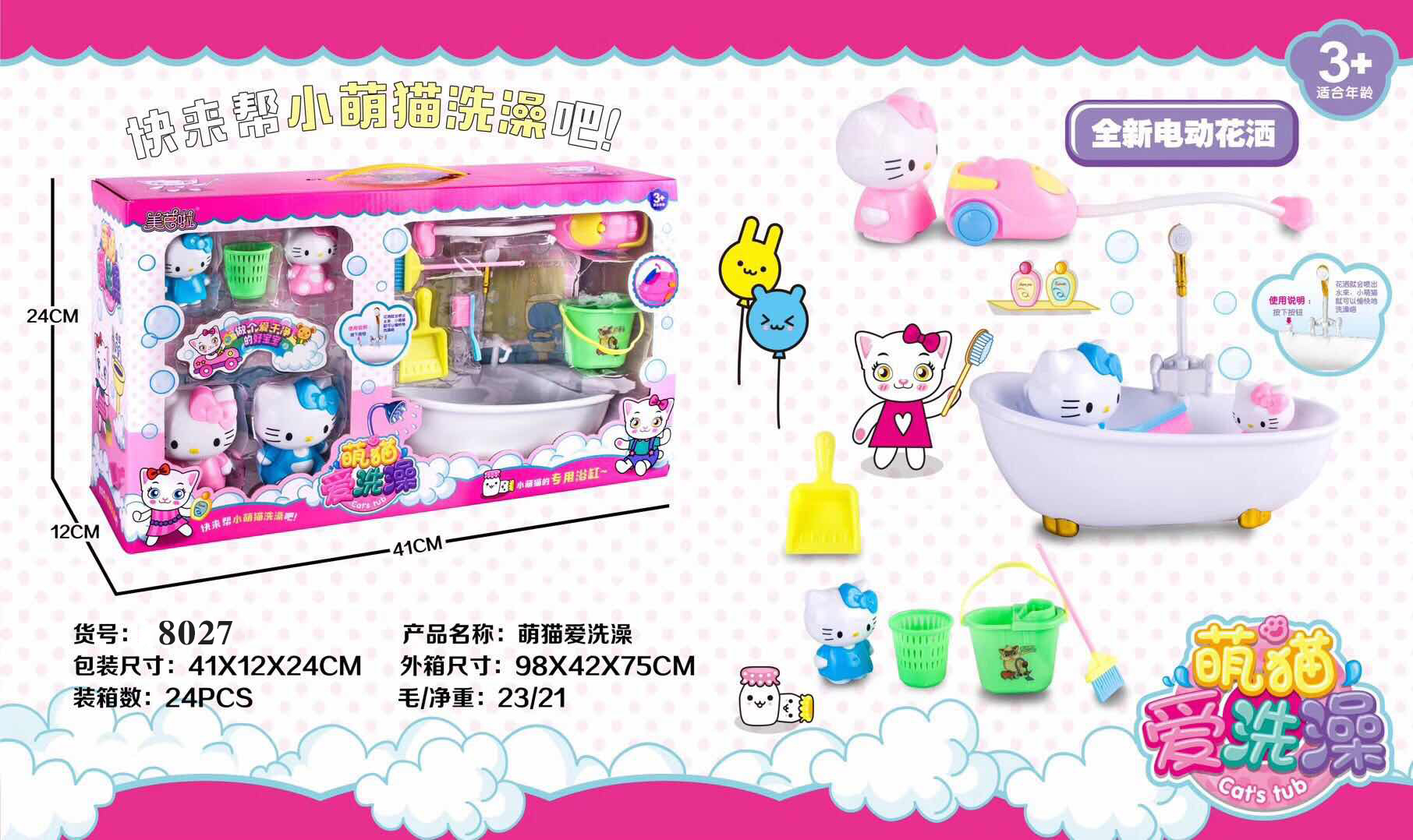 Supply Hello Kitty Goes Through The