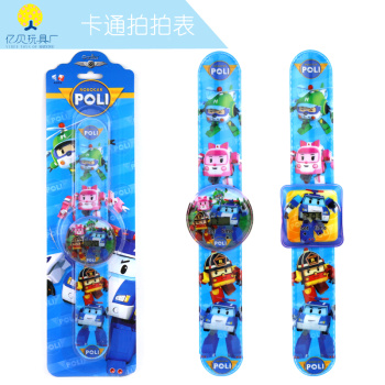 2018 new Slap watch, the polly children's gift cartoon electronic watch