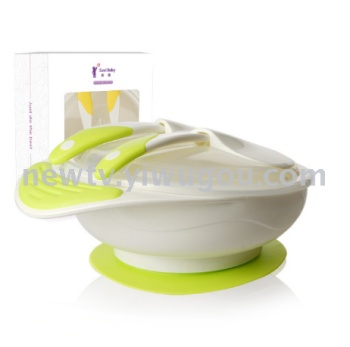 Wholesale baby and baby bowl cutlery learning fork and spoon cover baby PP.