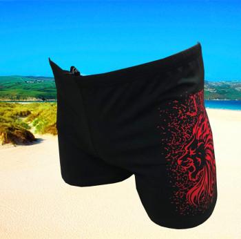 New men's boxer shorts spring swimming trunks.