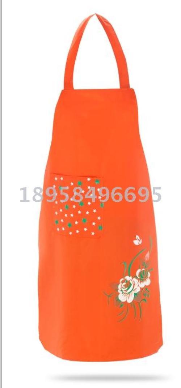 The kitchen USES a custom apron advertising apron to advertise apron and PvC apron.
