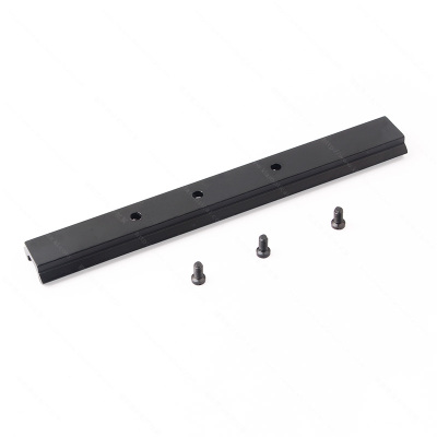 152mm three-hole aiming mirror metal guide bar.