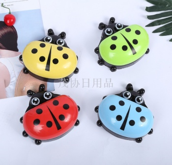 New creative ladybug soap box with cartoon soap box toilet soap box toilet soap box customized.