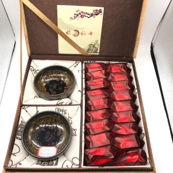 Build a kung fu master cup da hong pao tea gift box.