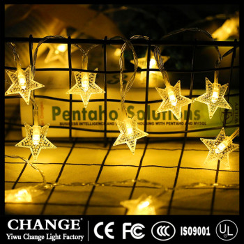 Fairy Light String Star Lamp Wedding Xmas Party Outdoor Indoor Room Decor