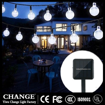 Manufacturers selling Christmas decorative lamp string string lights solar courtyard