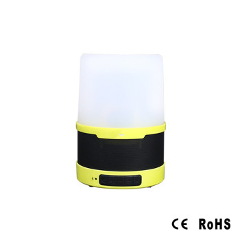 USB charging camp lamp bluetooth wireless connection 200 lumens highlight LED.