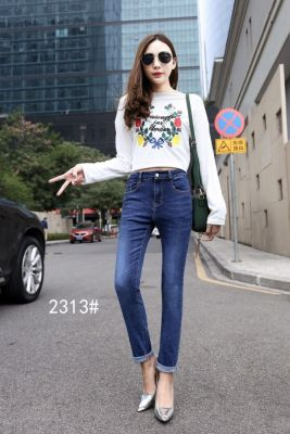 Spring version of the new jeans manufacturers wholesale and wholesale of Korean version of the female jeans