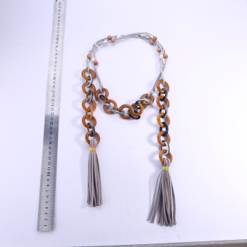 Fashionable new tassel necklace for ladies.