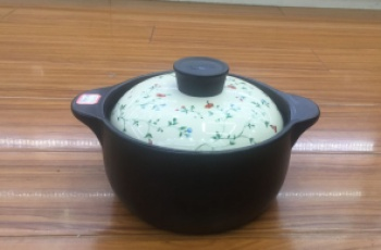 King kong clay pot (rococo) clay pot (rococo) can withstand high temperature of 880 degree soup clay pot.