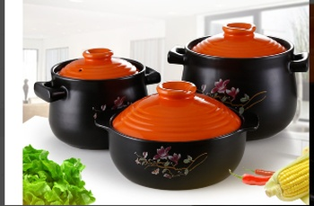 Pottery clay pot wang yuanyi electric cooker special casserole for the new color soup pot.