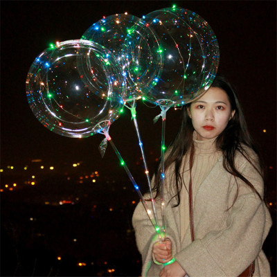 2018 new web celebrity balloon night market hot sales of children's toys, wechat business promotion wholesale