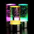 Rechargeable LED bar, desk lamp, colorful crystal lamp.