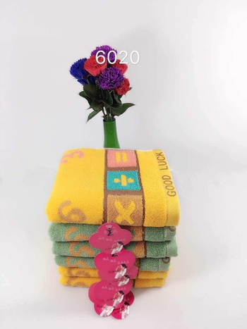 Pure cotton and bright towel face towel face towel is super absorbent and can be customized logo.