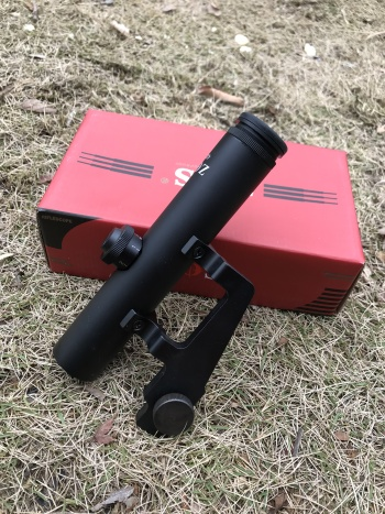 Universal ZOS4*22 SV and A special scope.