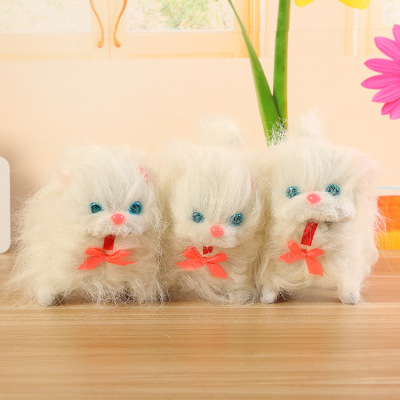 Manufacturers direct long hair cat tail will go creative pet children's electric toy equipment selling hot