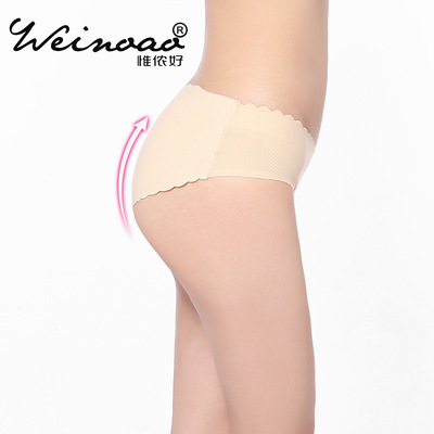 Breathable lift buttock underwear a piece of seamless \