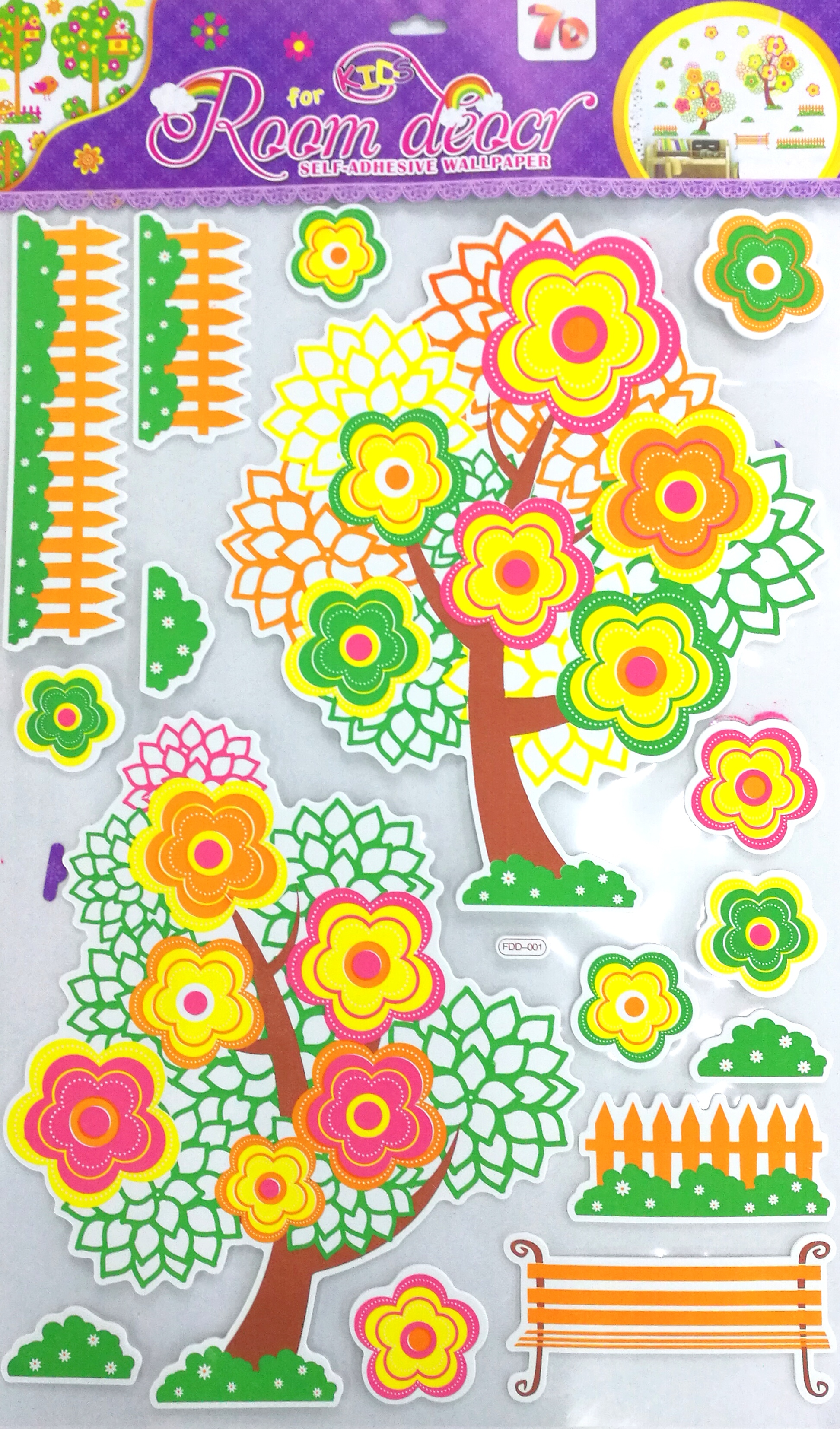 Supply EVA high wall stickers layer after layer of 3D sticker 5D ...