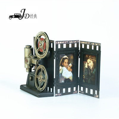 supply factory direct selling hand made vintage iron art projector