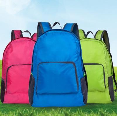 waterproof folding travel backpack hiking travel backpack bag
