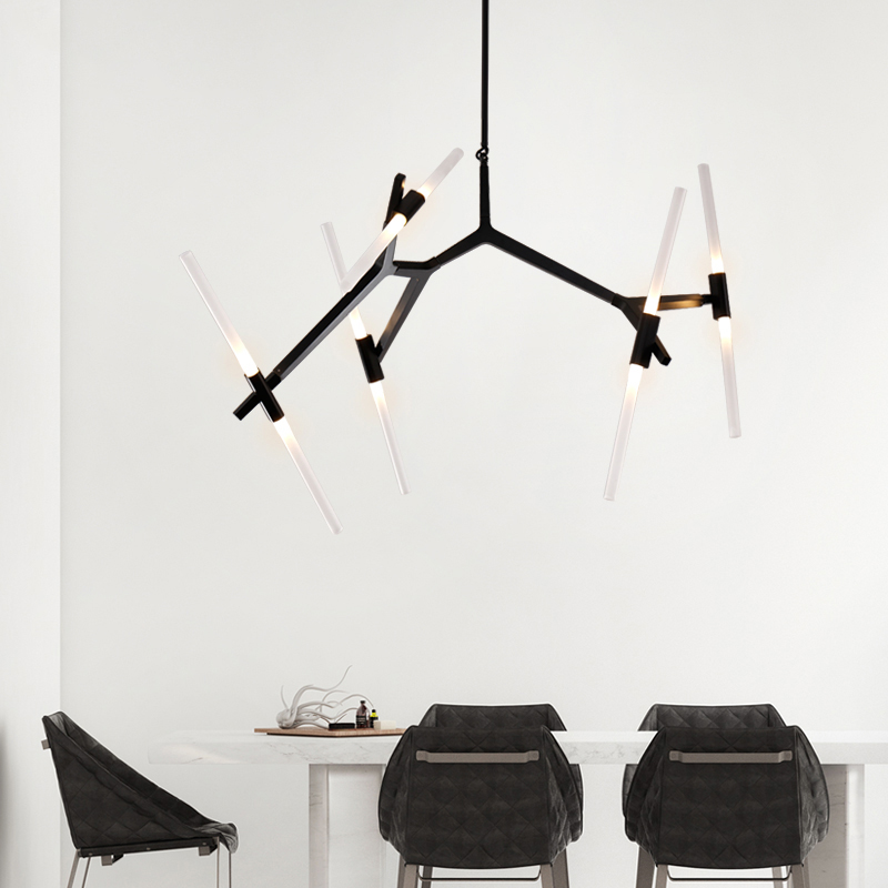 Nordic Simple Art Branch Chandelier Designer Creative Living Room Dining Modern Personality Tree