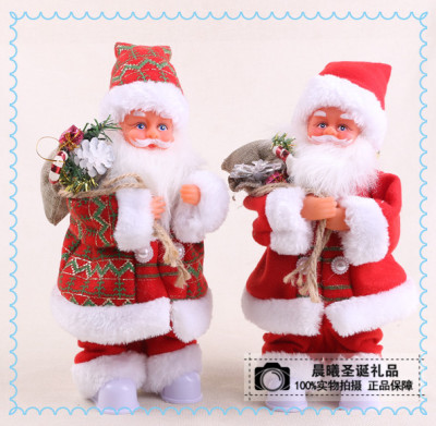 Supply Electric Music Santa Claus Children Toys Christmas Gift