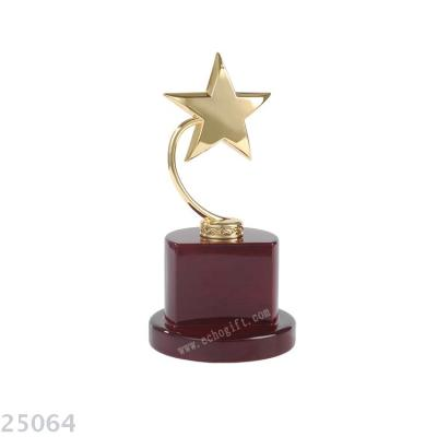 Metal trophy,  golden trophy,  star  trophy office trophy.business gifts