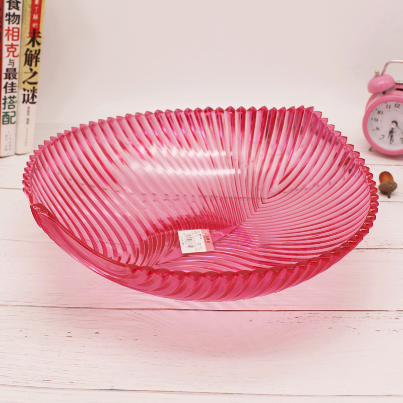 Supply Candy tray creative fruit tray plastic transparent fruit dish ...