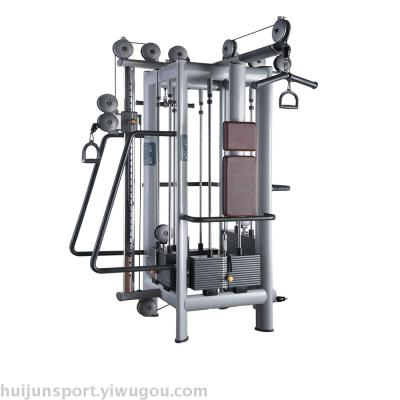 Military commercial four station comprehensive trainer fitness gym multifunctional fitness equipment
