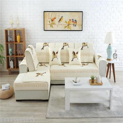 All Cotton Cloth Upholstery Sofa Cushion Covers The Four Seasons General Anti Slip