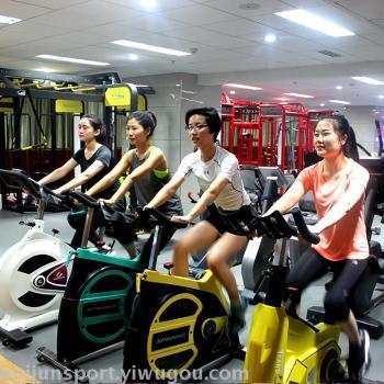 HJ-BY601会军专用商用动感单车 健身房专用健身器材