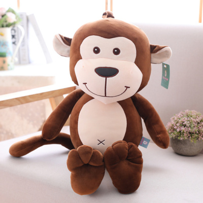 Funny design popular super soft and comfortable stuffed plush Monkey toy