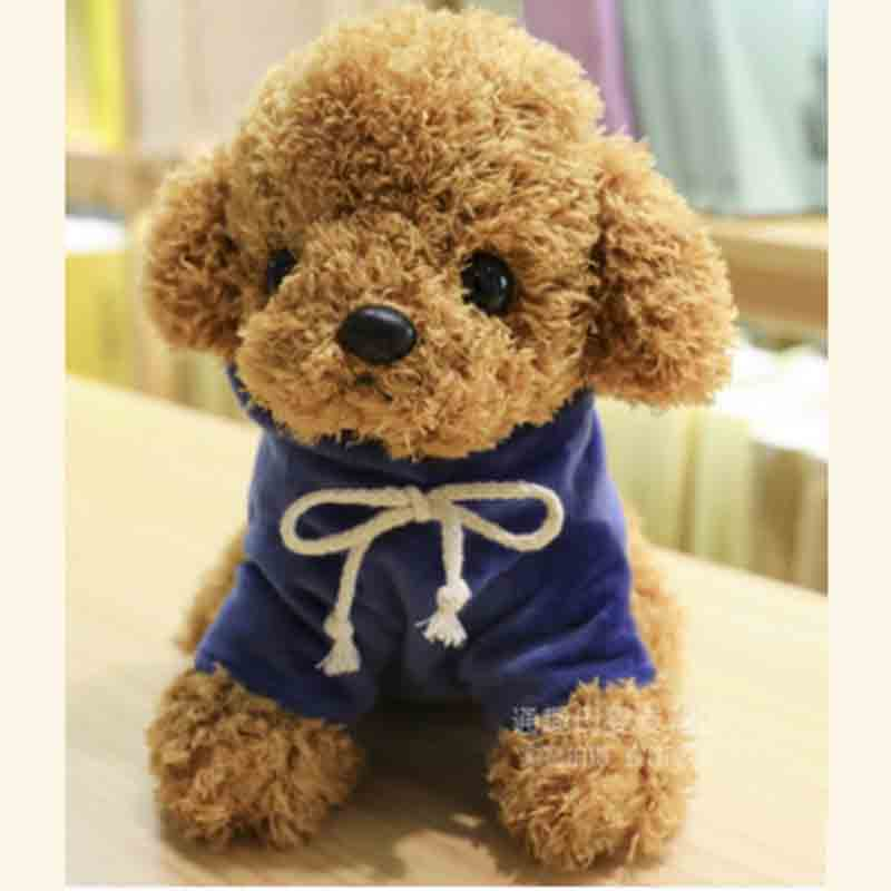 Duoai Mini Cuddly Plush Dog Toy Stuffed Animal Doll With Sweater