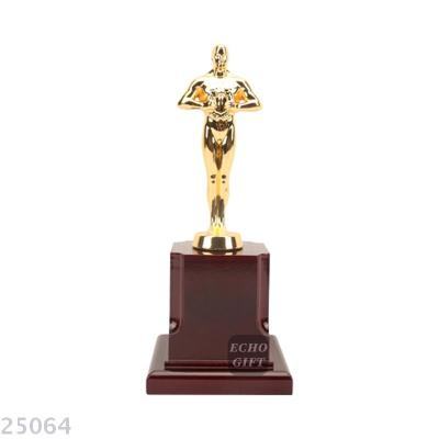 2018 metal trophy award ceremony trophy dance music trophy Oscar statuette wholesale.