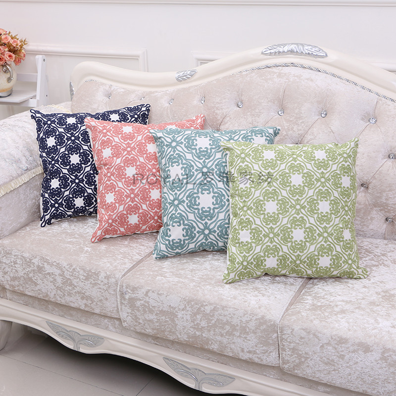 Supply The Pillow Is Creative European And American Wool Embroidery