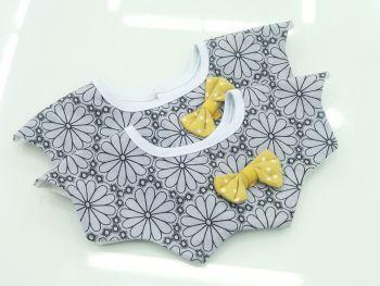纯棉八角口水巾
