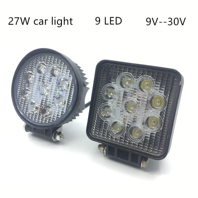 Car LED light 27W working light super bright light