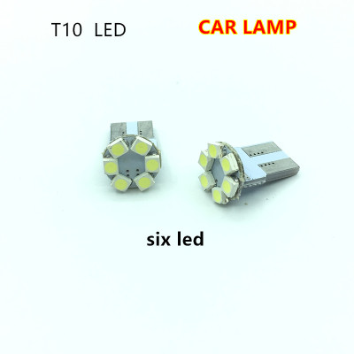 Car LED indicator light white light reading lamp