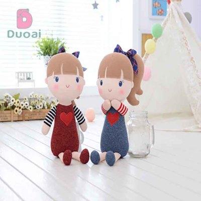 Unique Design Beautiful Animated Doll Plush Humanoid Girl Toy