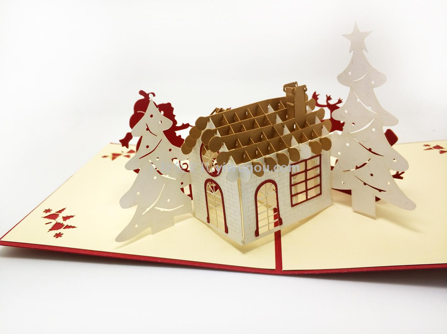 Supply Creative 3d Christmas Card Handmade Holiday Greeting Card