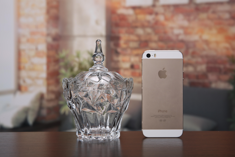 欧式创意透明玻璃糖罐储物罐糖果罐茶叶罐